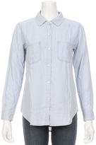 Rails Carter Tencil Railroad Stripe Denim Shirt