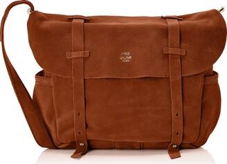 Mila Louise Womens Bernie Cross-Body Bag brown Size: One size