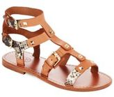 Ash Morocco Studded Leather Gladiator Sandals