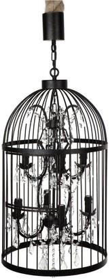 Cafe Lighting Macaw Chandelier 8 Arm
