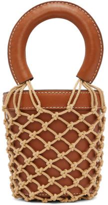 STAUD Brown Mini Moreau Bag