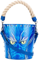 J.W.Anderson printed bucket tote - women - Calf Leather - One Size
