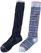 Gold Toe Goldtoe Girls 7-16 GOLDTOE 2-pk. Striped Knee High Socks