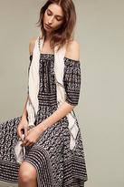 Shoshanna Angela Silk Open-Shoulder Dress