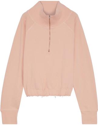 Current/Elliott The Blackthorn French Cotton-terry Sweatshirt