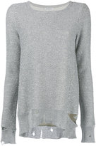 Dondup round neck jumper - women - Cotton/Nylon/Polyester/Viscose - M