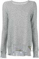 Dondup round neck jumper - women - Cotton/Nylon/Polyester/Viscose - S
