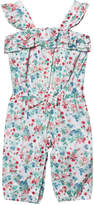 Mayoral Floral Playsuit