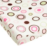Carter's Super Soft Printed Changing Pad Cover, Pink Circles