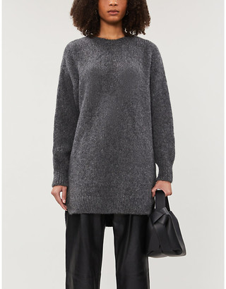 Anine Bing Kyle wool-blend sweater dress