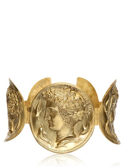 Dolce & Gabbana Gold Plated High Waist Belt