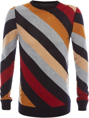 J.W.Anderson STRIPED CREW NECK