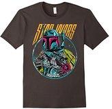 Star Wars Boba Fett Blaster Graphic T-Shirt