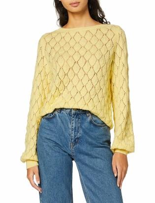 Vero Moda Women's Vmpretty Ls Structure Blouse Jumper