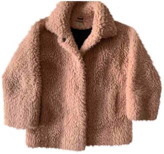 Essentiel Antwerp Pink Polyester Jackets