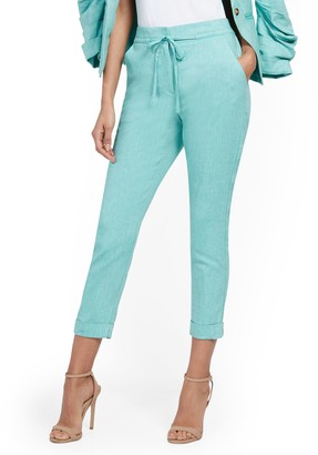 New York & Co. Tall Linen Jogger Pant - 7th Avenue