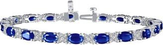 Lafonn Simulated Diamond & Sapphire Tennis Bracelet