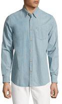 Wesc Oke Soft Lightweight Denim Button-Down Shirt