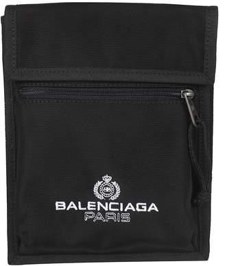 Balenciaga Paris Logo Messenger Shoulder Bag