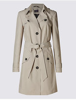 M&S Collection Belted Trench with StormwearTM