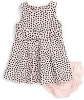 Kate Spade Jillian Sleeveless Polka Dot Dress (Baby Girls)