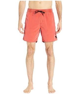 Volcom 17 Center Trunks (Dust Red) Men's Swimwear