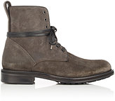 Vince MEN'S OILED SUEDE CARTER BOOTS-DARK GREY SIZE 9.5