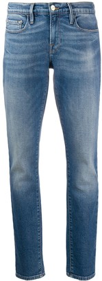 Frame Mid-Rise Skinny Fit Jeans