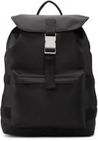 A.P.C. Black Sylvain Backpack