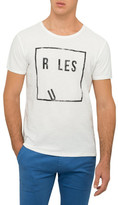 BOSS ORANGE Rules Are Meant To Be Broken Tee