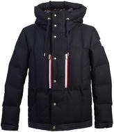 Moncler Gamme Bleu Techno Wool Padded Jacket