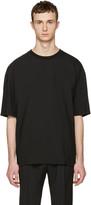 Lanvin Black Oversized T-Shirt