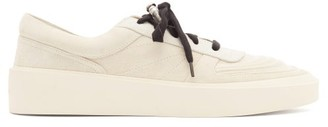 Fear Of God Skate Raised-sole Suede Trainers - White