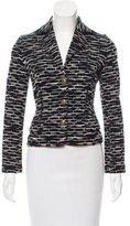 M Missoni Textured Knit Wool-Blend Blazer
