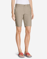 Eddie Bauer Women's Slightly Curvy Adventurer® Ripstop Bermuda Shorts