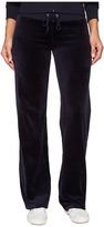 Juicy Couture Mar Vista Velour Pants Women's Casual Pants