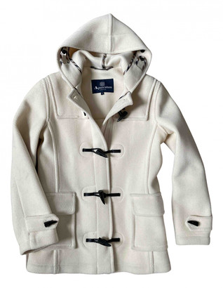 Aquascutum London White Wool Jackets