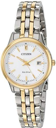 Citizen Women's 'Eco-Drive Bracelet' Quartz Stainless Steel Watch