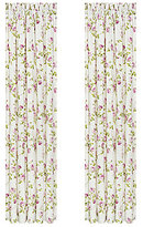 Piper & Wright Rosalie Vintage Crochet-Trimmed Floral Window Treatments