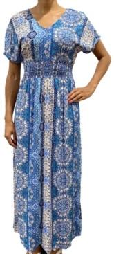 BeBop Juniors' Printed Maxi Dress