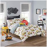 Waverly Kids Under Construction Reversible Bedding Collection, Full, Multicolor