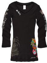 Kids - Geisha Tattoo Dress (Toddler/Little Kids/Big Kids) (Black)
