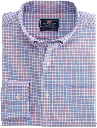 Vineyard Vines Classic Fit Amagansett On-The-Go Performance Murray Shirt