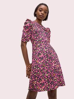 Kate Spade marker floral a-line dress