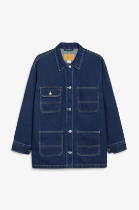 Monki Denim utility jacket
