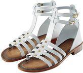 Sandale, Nieten, Riemen, Schnallen