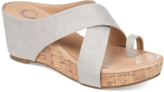 Journee Collection Rayna Women's Wedge Sandals