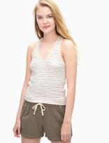 Splendid Stripe Rib Knit Tank