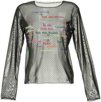 Tu Es Mon Trésor 'The Orchestra' mesh top