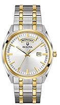 Bulova 98C127 Classic Two-Tone Stainless Steel Men's Watch